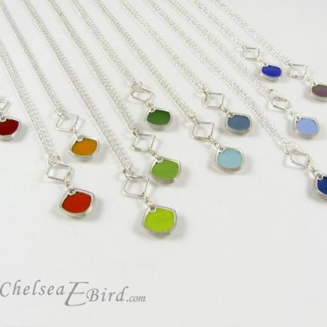 Chelsea Bird Designs Chroma Single Pendants All Colors