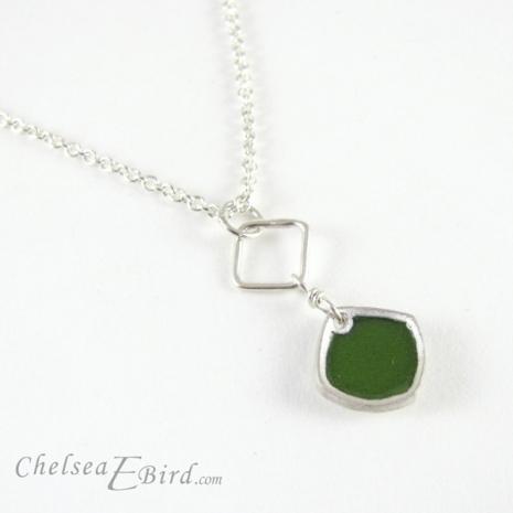 Chelsea Bird Designs Chroma Single Dark Green Pendant