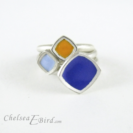 Chelsea Bird Designs Chroma Ring Stack