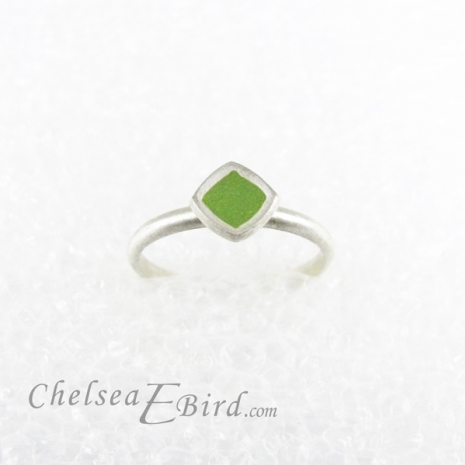 Chelsea Bird Designs Chroma Small Ring Leaf