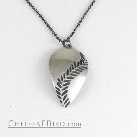 Chelsea Bird Jewelry Parra Large Patina Pendant