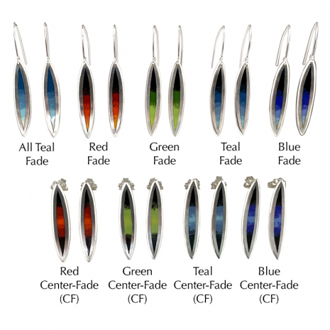 Salix Fade Color Options by Chelsea E. Bird