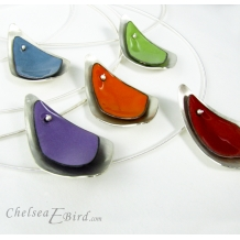 Chelsea Bird Designs Flame Single Necklaces