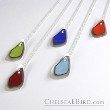 Chelsea Bird Jewelry Flame Small Pendants