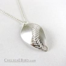 Chelsea Bird Jewelry Parra Large Silver Pendant