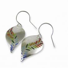 Chelsea Bird Jewelry Parra Large Rainbow Hook Earrings