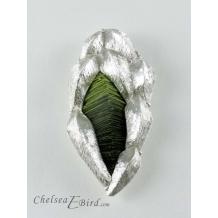Crystal Pendant/Brooch